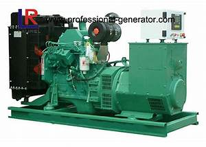 3 Phase 4 Wire Brushless 400kw Natural Gas Generators With