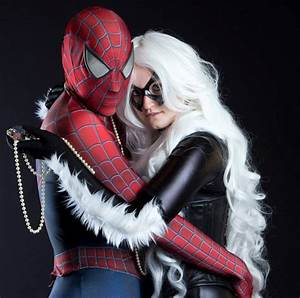 Black Cat and Spiderman by MadxClownxDisease on DeviantArt