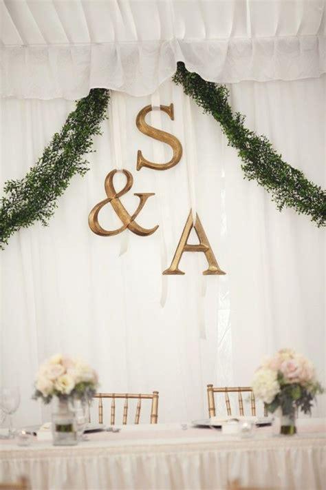 bridal table backdrop wedding flair