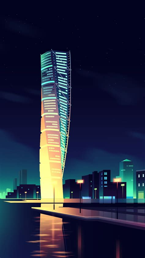 City Animated Wallpaper - animated city wallpaper iphone wallpaper iphone