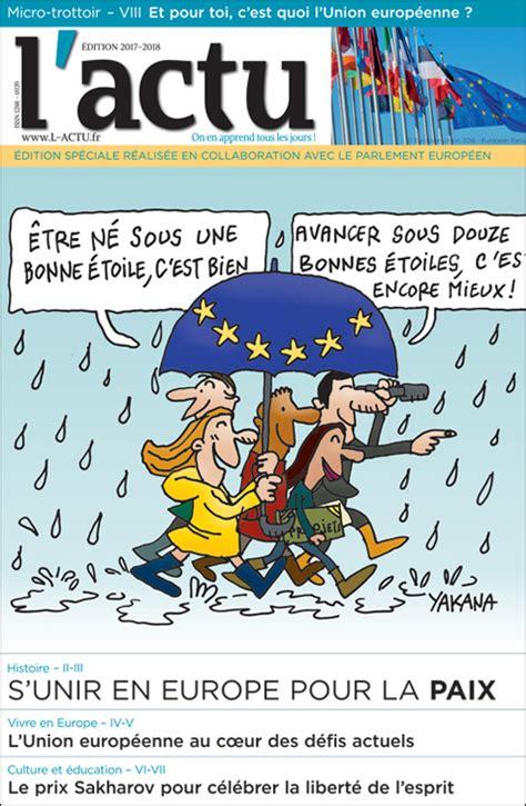 le bureau europeen une édition spéciale de l 39 actu pour les 13 18 ans jeunes