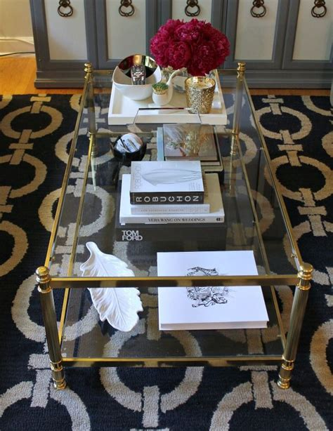 Its size also makes it one of the major focal points in the room. mint love social club: {gold + glass coffee table} Love ...