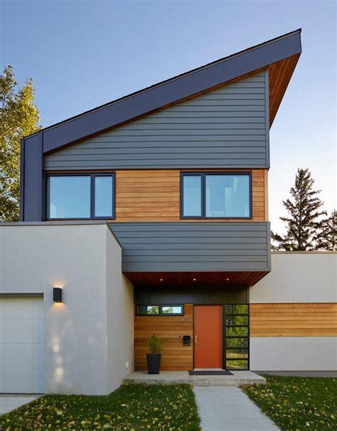narrow lap siding exterior contemporary  wood