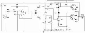 100w Subwoofer Amplifier Circuit Diagram  Working And