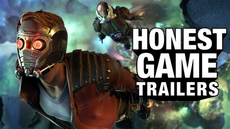 Guardians Of The Galaxy The Telltale Series (honest Game Trailers)  Artistry In Games