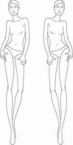 full figure croquis   Illustration Fashion Figures ...