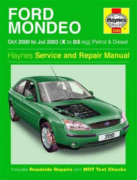 ford mondeo petrol diesel   haynes service repair