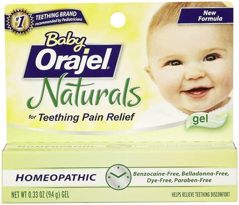 Baby Orajel Naturals Teething Pain Medicine Gel Tagsaleco