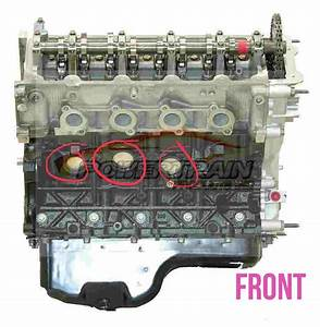 Where Are The Frost Plugs In The 5 4l V8 For 2000 F150