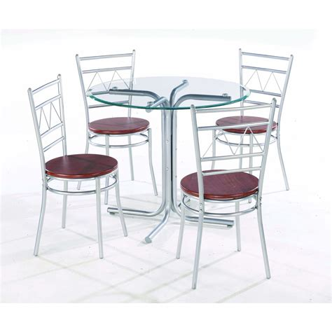 glass table with chairs inexpensive modern glass top dining tables
