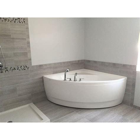 olivia   acrylic corner bathtub   bathroom