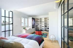 Decoration contemporaine avec verrieres picslovin for Chambre avec dressing ouvert