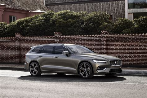 new volvo the new volvo v60 is a sleek wagon with more semi autonomy
