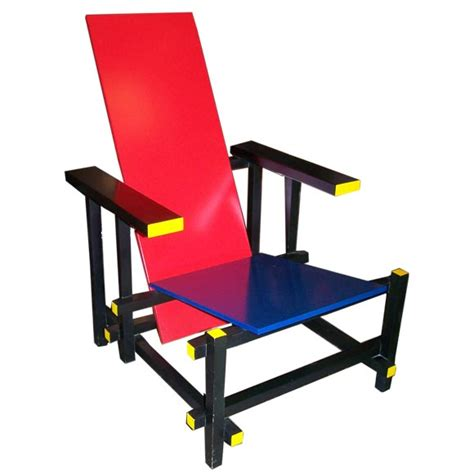 la chaise et bleue rietveld gerrit furniture design 1910 1920 the list