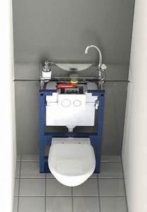 Reservoir Wc Lave Main : lave mains compact sur wc suspendu geberit wici next de wici concept ~ Melissatoandfro.com Idées de Décoration