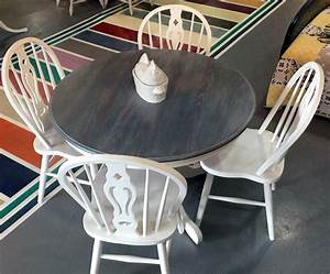 Gray Gel Stained Table Top General Finishes Design Center