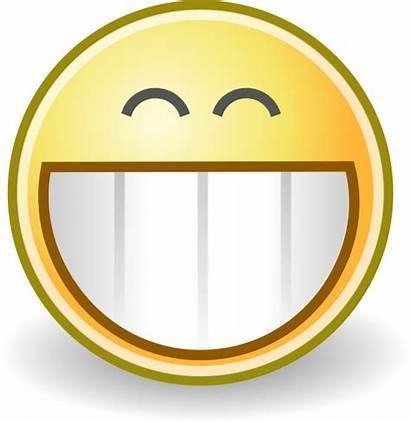 Face Grin Clip Clipart Smile Clker Royalty