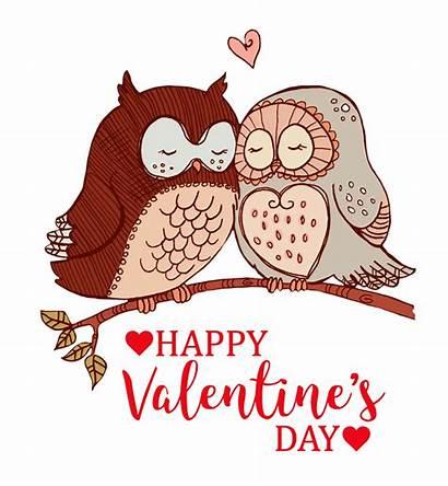 Valentine Valentines Clipart Happy Owl Owls Graphics