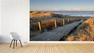 Fototapete Schlafzimmer Mit Traumhaften Strand Meer