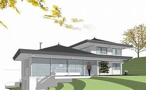 Maison Avec Sous Sol Sur Terrain En Pente : maison etage pente ~ Melissatoandfro.com Idées de Décoration