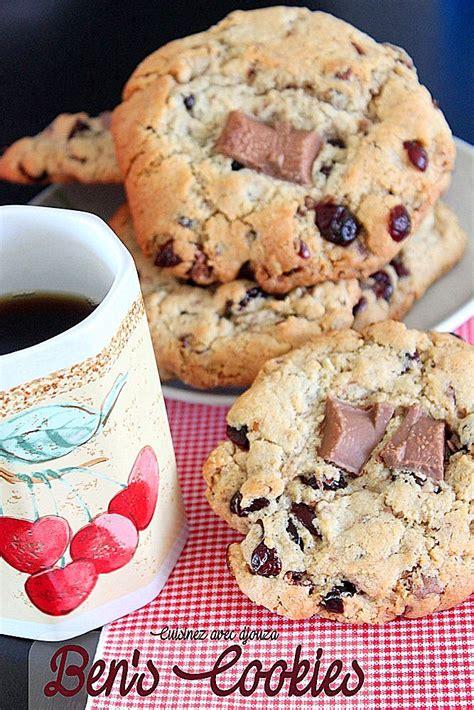 recette de cuisine en anglais ben 39 s cookies anglais la recette recettes faciles