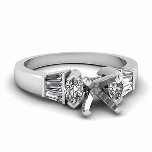 ring settings without center diamond fascinating diamonds With wedding ring mounts without center stone