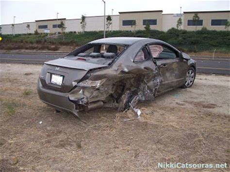 Nikki catsouras was killed in a horrible car crash on halloween day of 2006. All The Fun Facts....: Nikki Catsouras Accident All Pics