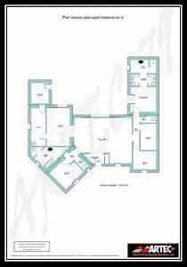 plan maison plain pied 100m2 3 chambres 9 plans de With plan de maison 100m2 9 constructeur maisons bioclimatiqueskokoon constructeurs