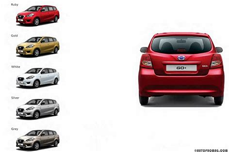 Datsun Go+ Launched In India At Rs 3.79 Lakh