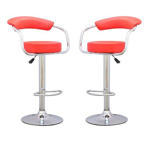 chaise de bar vintage tabouret de bar x 2 retro coiffeur tabouret de bar