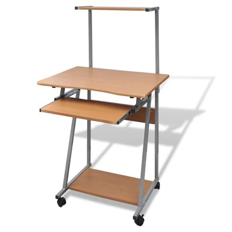 table pour ordinateur de bureau la boutique en ligne table de bureau brun pour ordinateur