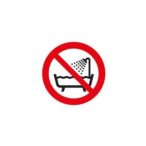 panneau disque quot ne pas utiliser ce dispositif dans une baignoire une ou un r 233 servoir