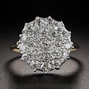 vintage cluster engagement rings diamantbilds - Vintage Engagement Rings 1000