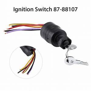 Ignition Switch Push To Choke 87