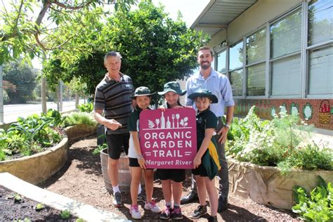 Mrps Organic Kitchen Garden Hits The Trail  Margaret