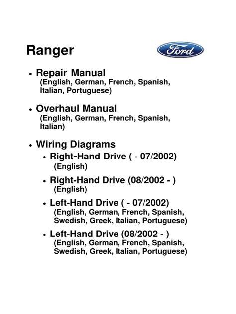 ranger repair manualpdf piston throttle