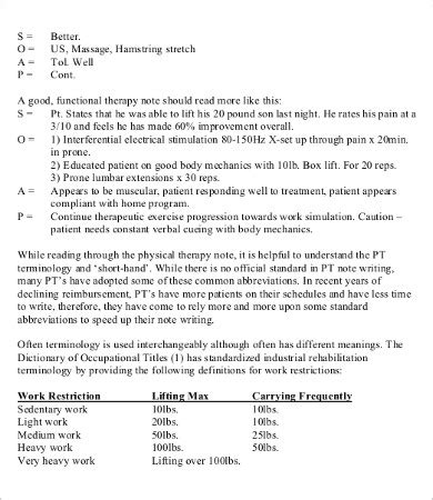 therapy notes soap note template 10 free word pdf documents free premium templates