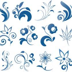 Decorative Swirls Vector Free