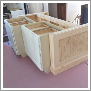 build a kitchen island out of cabinets build a diy kitchen island build basic 9773