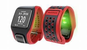 Horloge met ingebouwde hartslagmeter en gps