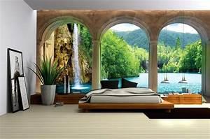 Schlafzimmer Tapeten Bilder : 3d tapete schlafzimmer bezaubernd auf dekoideen fur ihr zuhause mit vlies fototapeten fototapete ~ Sanjose-hotels-ca.com Haus und Dekorationen