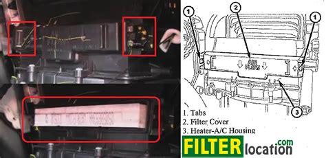 change dodge journey cabin air filter
