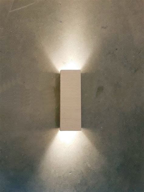 modern handmade ceramic led wall light up down cube indoor wall sconce lighting l fixture in