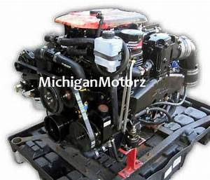 Mercruiser 5 7l Complete Engine Pkg  Fuel Injection