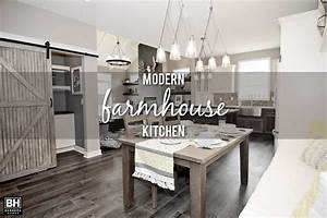 Showcase Home Features - Modern Farmhouse Kitchen