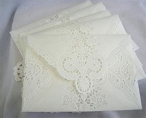 Custom Set For Michela Envelopes Vintage Wedding Handmade