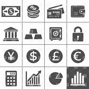 Money, finance and banking icons, 12510, Icons and Emblems ...
