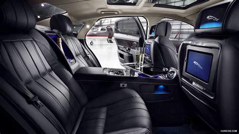 2013 Jaguar Xj Ultimate  Interior Rear Seats Hd