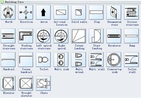 architectural drawing symbols floor plan  getdrawings