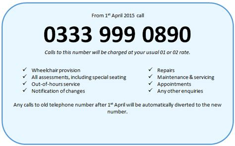 nhs phone number new wheelchair service for northtonshire